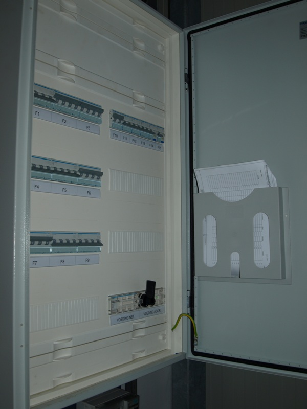 Main switch panel